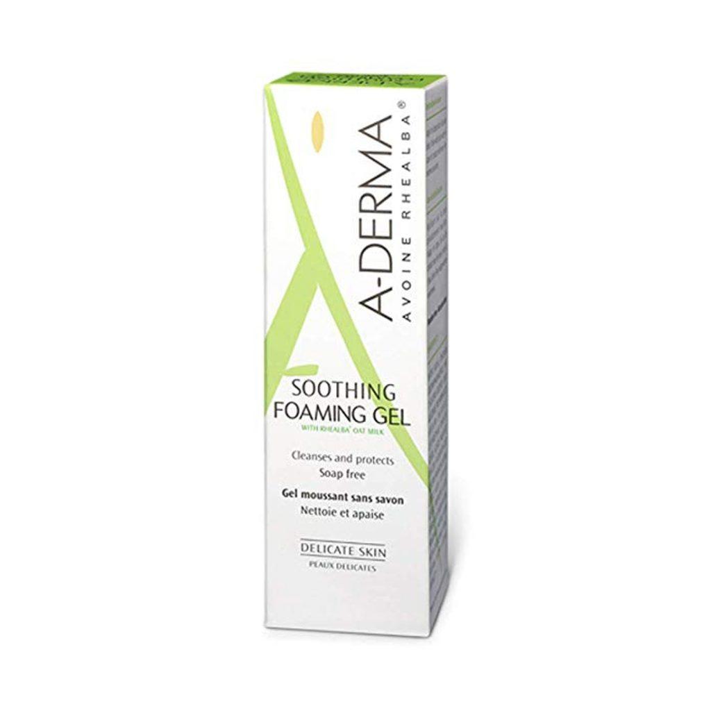 a derma soothing foaming gel