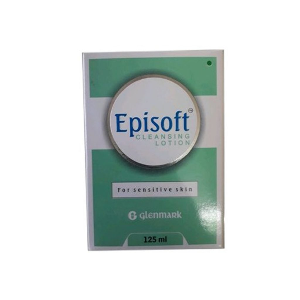 episoft cleansing lotion for sensitive skin