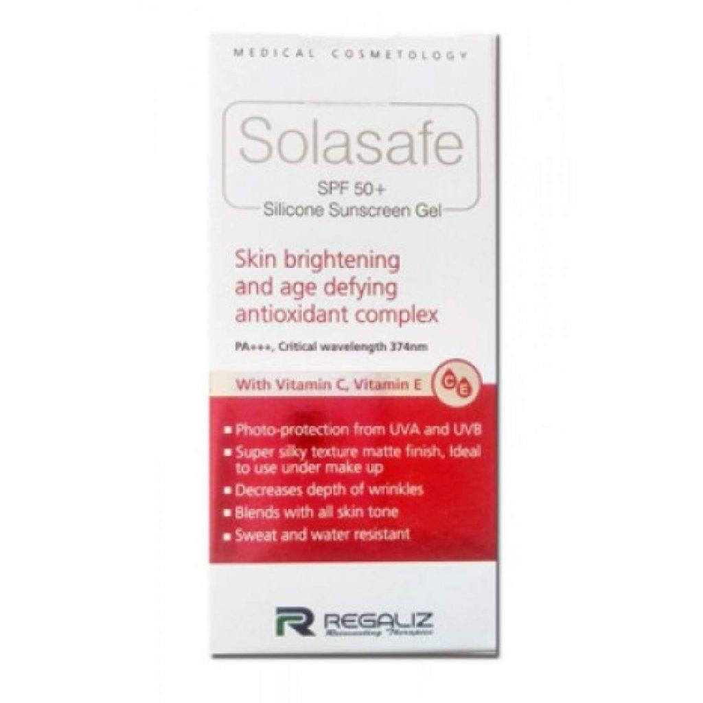 REGALIZ Solasafe SPF 50+ Silicone Sunscreen