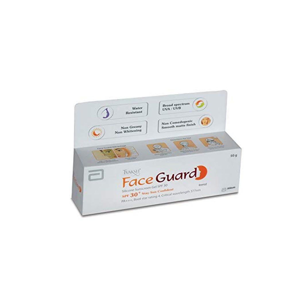 silicone sunscreen gel