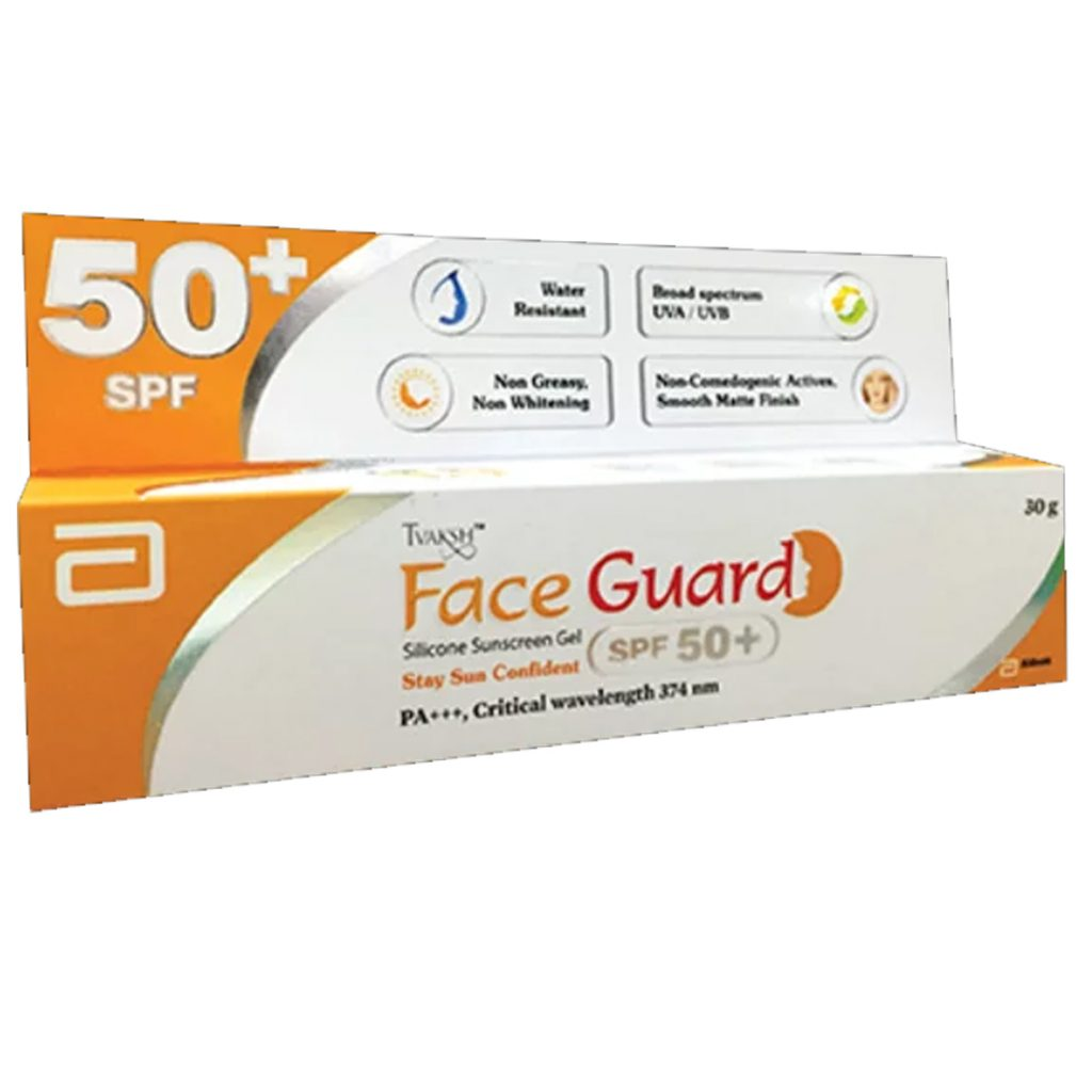 tvaksh face guard spf 50